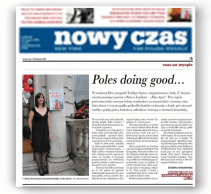 Nowy Czas - Poles doing good